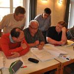 Vom 26.-28. September 2014 fand das erste Modul der Ausbildung statt.