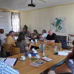 Im Juni 2014 informierte die Ausbildungsleitung interessierte Bürger über das Projekt und die Ausbildung.