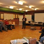 Vom 23.-25. Januar 2015 fand das zweite Modul der Ausbildung statt.