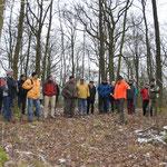 Die Exkursion des zweiten Moduls führte in den Steigerwald.