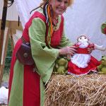 Erzählungen mit meiner Rotkäppchen-Puppe
