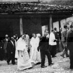 Procesión fiesta del Cristo. 1940
