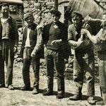 Aurelio, Tomás, Amador, Nicanor y José María