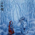 Acrylique sur toile, 100x100cm