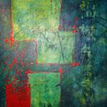 Acrylique sur toile, 110x75cm