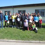 Siegerehrung 10 km Nordic Walking