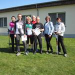 Siegerehrung 15 km Nordic Walking