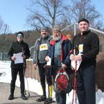 Siegerehrung Nordic-Walking