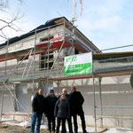 Die Kita an der Bütower Straße nimmt Gestalt an. Ende Februar feiert der gemeinnützige Träger Jugendwerk Aufbau Ost (JAO) Richtfest für die Einrichtung, in der später 60 Kinder betreut werden sollen.