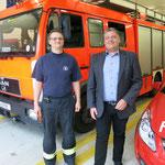 Denn die ehrenamtlichen Feuerwehrleute selbst sind von den Plänen alles andere als begeistert. Sie bevorzugen weiterhin einen Standort nördlich der B1.