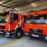 18. Dezember: Rudolf, das brandneue Löschfahrzeug der Freiwilligen Feuerwehr Mahlsdorf, hat seinen Dienstantritt.