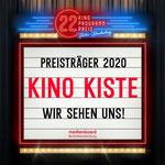 14. Mai: Das Kino Kiste in Hellersdorf gehört zu den Gewinnern des diesjährigen Kinoprogrammpreises Berlin-Brandenburg und erhält ein Preisgeld in Höhe von 10.000 Euro.
