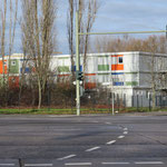 Ende November: Das Containerdorf für Geflüchtete am Blumberger Damm ist leergezogen. Die Unterkunft war im Frühjahr 2015 eröffnet worden.