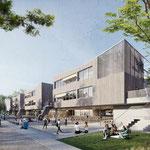 26. Oktober: Der Siegerentwurf für das neue Gymnasium in der Erich-Kästner-Straße steht fest. Die Oberschule wird für 65 Millionen Euro nach den Ideen der beiden Architekturbüros Hausmann Architekten und kba Architekten und Ingenieure errichtet.