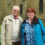 10. Juni: Seit 20 Jahren besteht die Städtepartnerschaft zwischen dem Bezirk und Lauingen in Bayern. Das Foto zeigt die Vorsitzende des Städtepartnerschaftsvereins Kerstin Rocktäschel und Gründungsmitglied Dr. Bernd Engling.