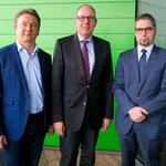 Die Swissbit Deutschland AG kündigt an, sich mit einer neuen Entwicklungs- und Produktionsstätte an der Bitterfelder Straße niederzulassen. Damit ist der erste Platz im CleanTech Business Park vergeben.