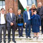 ... geht es zunächst zum Gut Biesdorf, wo die STADT UND LAND aktuell über 500 neue Wohnungen baut, ...