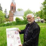 19. Juni: In Kaulsdorf wird an die Rekonstruktion der Kirchturmspitze vor 20 Jahren erinnert.