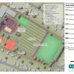 29. Oktober: Zwei Jahre lang hat der BSV Eintracht Mahlsdorf gemeinsam mit dem Bezirkssportbund an einem Zukunftskonzept für die Sportanlage am Rosenhag getüftelt. So sieht der Entwurf aus.
