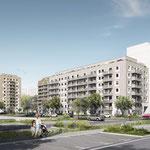 Die Stadt und Land lässt in der Mittenwalder Straße zwischen den Zossener Höfen und dem Teupitzer Park 310 neue Wohnungen errichten. Im März ist Baubeginn für das erste Haus. Im Juni folgen dann die Gebäude zwei und drei.