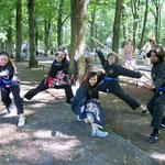 31. Juli: Der Biesdorfer Park ist zwei Tage lang Austragungsort der Kinder-Sommer-Ferienolympiade.