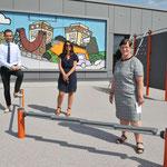17. Juni: Am Jugendklub Joker wird der für 300.000 Euro neu gestaltete Spielplatz eröffnet.