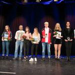 Die Erstplatzierten sind Laura Kockro (Bowling), Leon Brettschneider (LA), Johanna Schikora (Finswimming), Niki Richter (Kampfsport), Nathalie Köhn (Rh. Sportgym.), Mustapha El Ouartassy (LA), Torsten Drescher (LA), Lena Ernst+Maria Heida (Cheerleading)