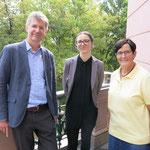 5. September: Ein Jahr nach Einführung der kostenlosen Mieterberatung zieht Bürgermeisterin Dagmar Pohle gemeinsam mit Sheena Bartscherer vom Büro Gesoplan und Sebastian Bartels vom Berliner Mieterverein bei einem Pressegespräch eine positive Bilanz.