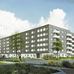 In Typisierungen und Standardisierungen sehen die kommunalen Wohnungsbaugesellschaften ein wichtiges Instrument, künftig günstiger, schneller und trotzdem attraktiv zu bauen. Der STADT-UND-LAND-Prototyp in Hellersdorf soll 2019 bezugsfertig sein.
