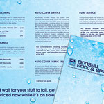 winter services brochure for Bonsall Pool & Spa