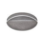Deckel Grabvase Aluminium