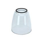 Glas konisch rund
