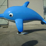 イルカのモニュメント(FRP)