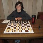 """Jacob von den Tischtennis-Spielern des OSC Berlin UND Mitglied im Schachverein """"Pinguine"""""""