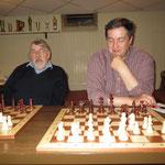 Beide sind auch bei Chessmail sehr aktiv: Hans und Dietmar