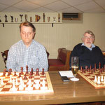 Uwe und Hans hielten sich ganz prima und spielten beide sehr lange.
