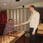 Neumitglied Dietmar trat kurz vor dem Simultan in unseren Verein ein! Herzlich Willkommen im MSV 06!