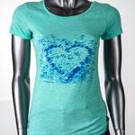 Amore - Damen Slub-Shirt aus Bio-Baumwolle