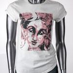 Tara - Damen T-Shirt aus Bio-Baumwolle mit Künstlermotiv