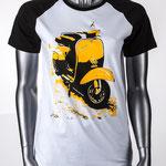 Vespa - Unisex T-Shirt aus Bio-Baumwolle