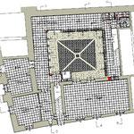 Riqualificazione urbana a Bivona - Ex Istituto Santa Rita - Pianta piano terra