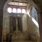 Chiesa dell'Annunziata Vecchia di Collesano - Foto di interni ante intervento