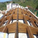 Chiesa dell'Annunziata Vecchia di Collesano - Realizzazione di coperture in legno lamellare