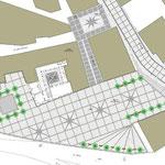 Riqualificazione urbana a Bivona - Planimetria Piazza San Giovanni