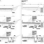 Regimentazione delle acque e stabilizzazione delle aree di Vampolieri in Acicatena - Sezioni stradali tipo