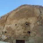 Chiesa dell'Annunziata Vecchia di Collesano - Foto di esterni ante intervento