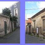 Riqualificazione urbana Acicatena - Foto edifici oggetto di recupero