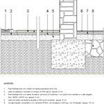 Riqualificazione urbana a Bivona - Ex Istituto Santa Rita - Particolare pavimentazione chiostro