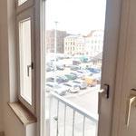 Wunderschöner Blick auf den Neuen Markt direkt vom Wohnzimmer