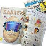 SNOWboarder's BIBLE 2014-2015号 SABRE